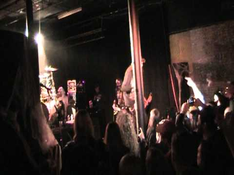 Nevermore-Halloween 2010-Jeff Loomis in a hot dog suit!