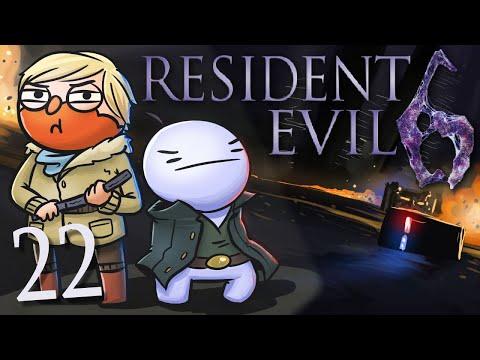 Resident Evil 6 /w Cry! [Part 22] - Road Rash