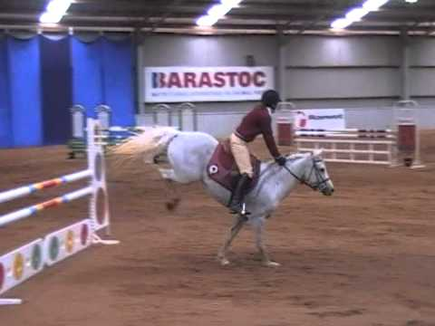2011 Pony Club Nationals showjumping Juniors AM5 klip izle