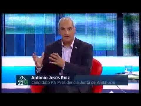 """Antonio Jesús Ruiz """"les pido el voto para el único partido andaluz"""""""