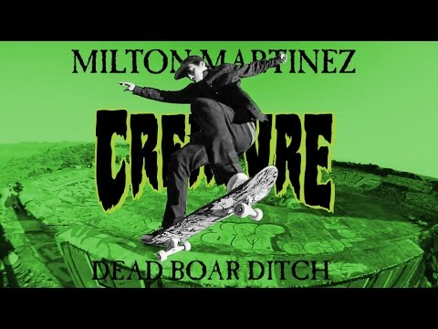 Milton Martinez at Dead Boar Ditch