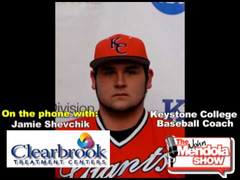 The John Mendola Show Keystone College Baseball