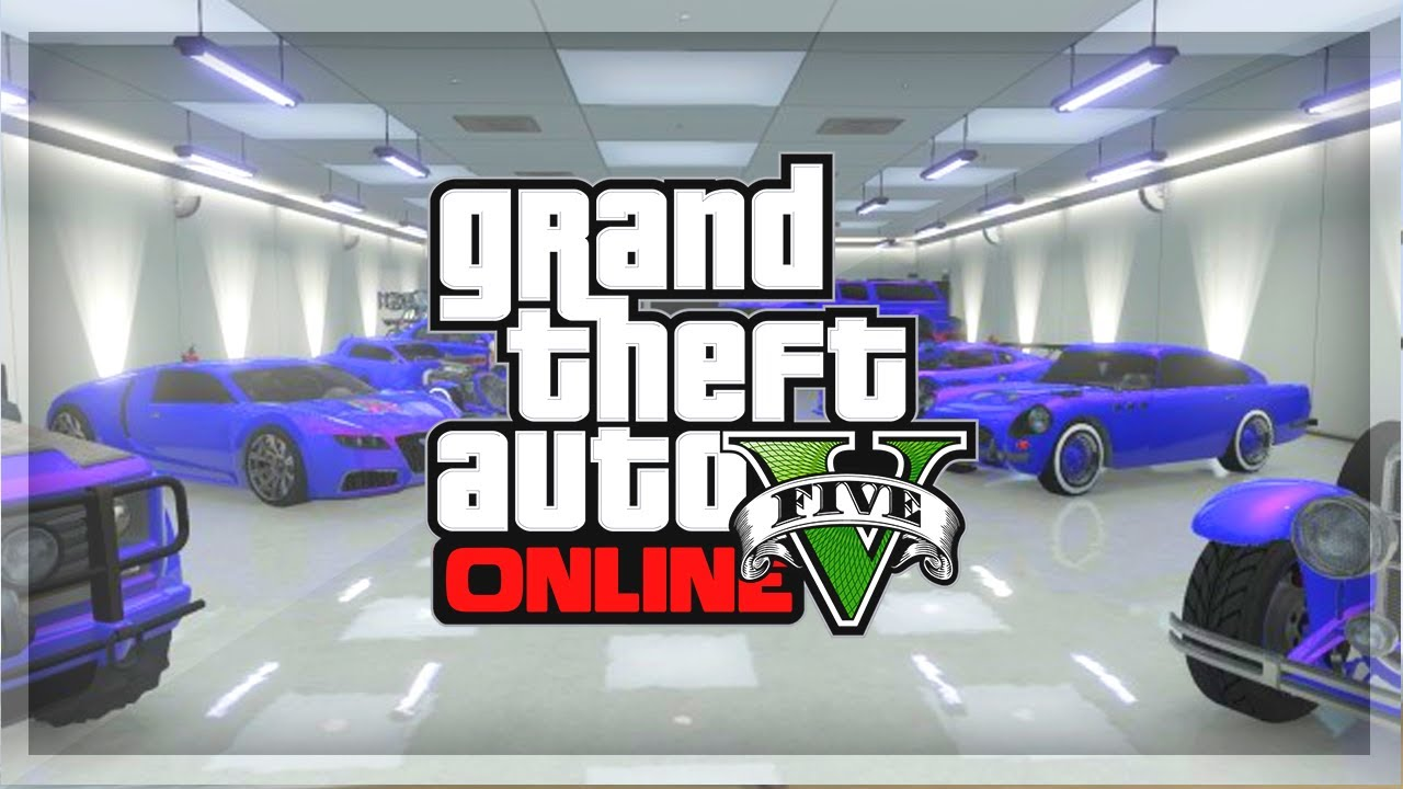Gta 5 online garage tour gta online rare super cars for Garajes gta v online