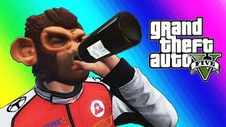 GTA 5 Online Funny Moments  Basketball Social Experiment  Pranks