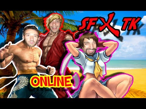Street Fighter X Tekken : GIOCATORI SCORRETTI! (Gameplay ITA HD 720p)