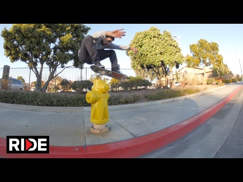 Scott DeCenzo Skate Tour Fountain Valley & Huntington Beach