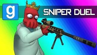 Gmod Sandbox - Epic Sniper Trickshots & Daithi De Camper! (Garry's Mod Funny Moments)