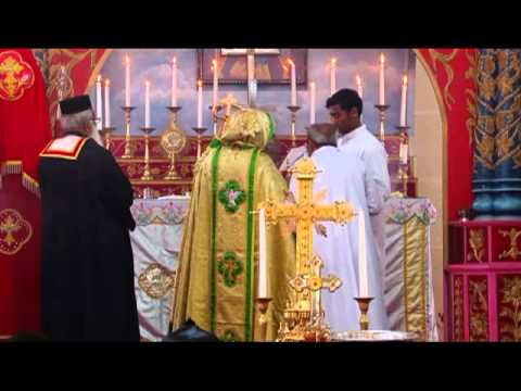 Mylamon Church Perunal 2012 Holy Mass - Hg. Dr Zacharias Mar Aprem video