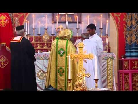 Mylamon Church Perunal 2012 Holy Mass - Hg. Dr Zacharias Mar Aprem video