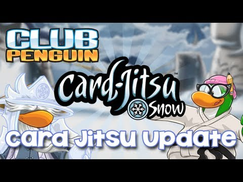 Club Penguin Card Jitsu Update May 2013 - Card Jitsu Snow, Card Jitsu Fire & Water for EVERYONE!