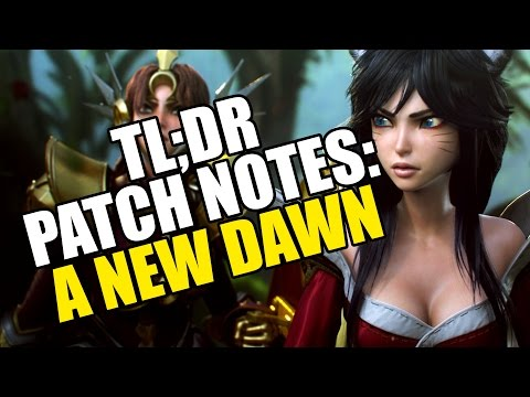 TL;DR Patch Notes: A New Dawn - League of Legends klip izle