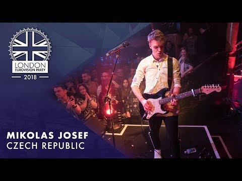 Mikolas Josef - Lie to Me   LIVE   OFFICIAL   CZECH REPUBLIC    2018 London Eurovision Party