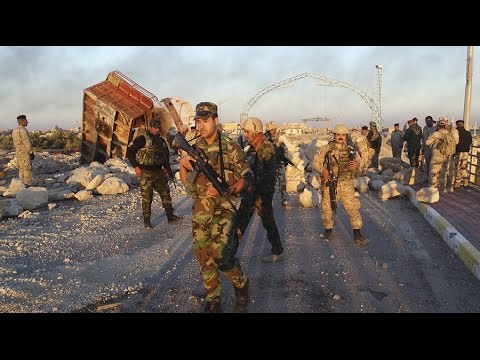 RAW: Iraqi forces clearing ISIS fallen stronghold Ramadi