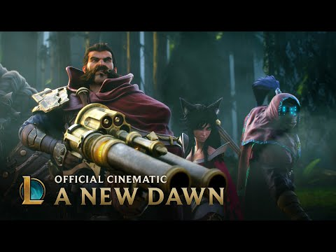 League of Legends Cinematic: A New Dawn klip izle