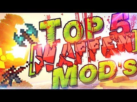 Top 5 Minecraft Mods ★ Waffen Mods ★ Deutsch German   Gun Mods & Weapon Mods   Top Minecraft Mods