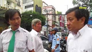 Nam tài xế đi vệ sinh ra bị ông Đoàn Ngọc Hải thấy xe niêm phong liền chống cự - Tin Tức Mới