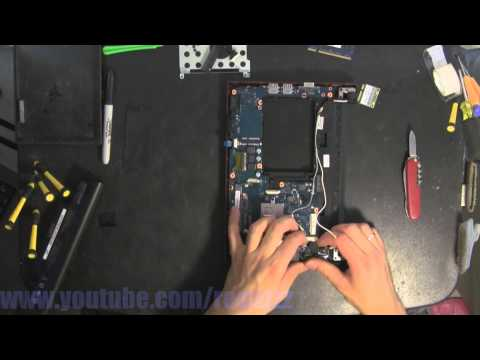 SAMSUNG N150 PLUS take apart video, disassemble, how to open disassembly