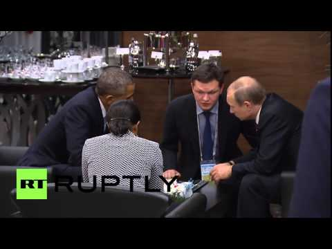 Turkey: Putin and Obama have one on one talk at G20 summit
