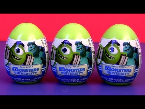 Monsters University Toy SURPRISE Easter Eggs Disney Pixar Monsters Inc. Toys by Disneycollector