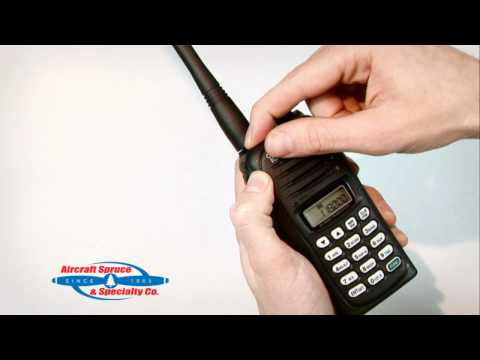 Inside the Icom A14 & A14S Handheld Radio
