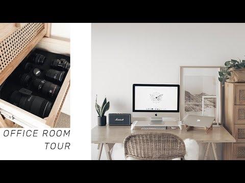 ROOM TOUR | 2018 Office & Studio Space