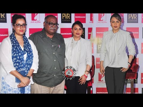 Rani Mukherjee at Mardaani Song Launch