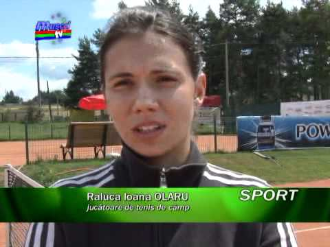 Raluca Ioana Olaru in cantonament la Campulung