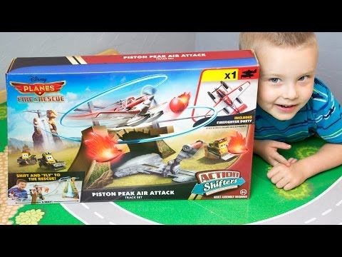 Air Attack Plane Air Attack Track Set Plane
