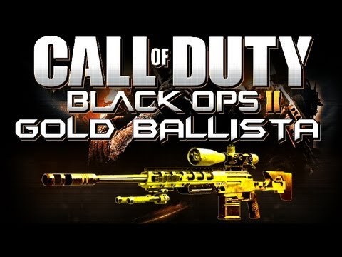 Gold Ballista! The Quick Scoping Sniper (BO2 Weapons Advice and Tips)