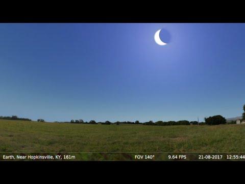 Total Solar Eclipse U.S.A. Aug 21st, 2017 (Simulation) ★★★★★