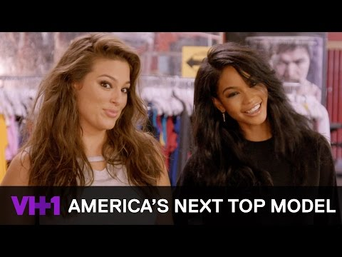 Chanel Iman Models w/ the Contestants At A Boxing Photoshoot | America's Next Top Model