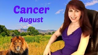 Cancer August 2016 Abundance is Your Reward