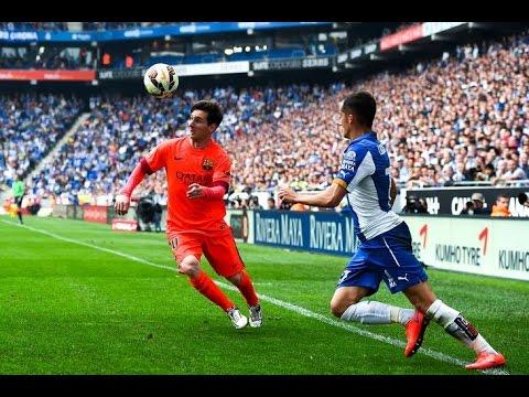 Lionel Messi vs Espanyol Barcelona (Away) - La Liga (25/04/15) 720p