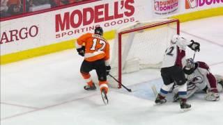 Flyers fans think Simmonds records hat trick, Voracek gets credit, boos ensue