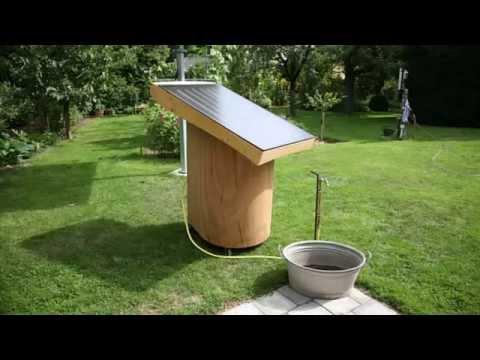 Der Alm Und Gartenwichtel: Solar Warmwasser Im Garten Und Auf Der Alm