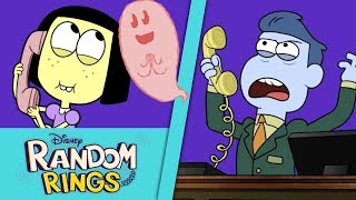 Ghost Friend 👻 | Random Rings | Big City Greens| Disney Channel
