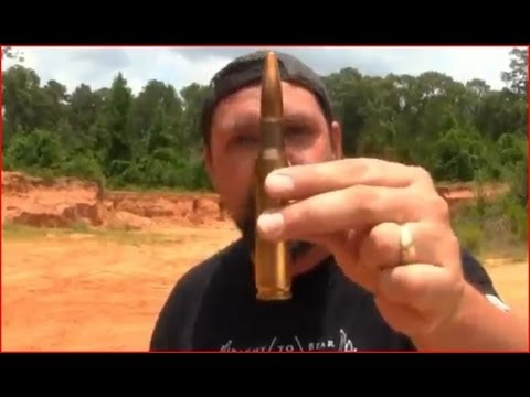 50 Cal BMG Vs Log! (Redneck Wood Splitter)