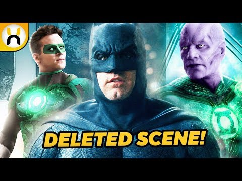 Justice League Deleted Scene Featured Batman Meeting Green Lanterns thumbnail