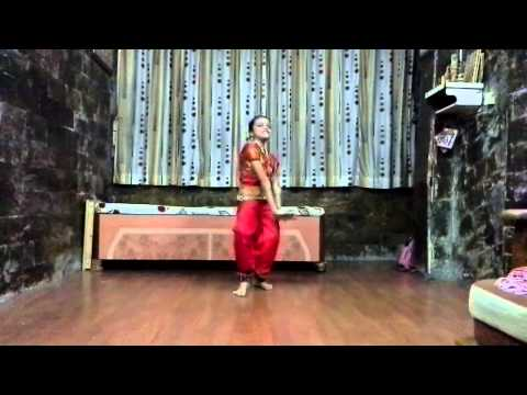 Palak Gor dance practice on lavani song.
