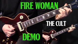 "performance | how to play ""Fire Woman"" on guitar by The Cult 