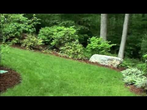 Design of terraced yard, stone retaining walls & landscaping