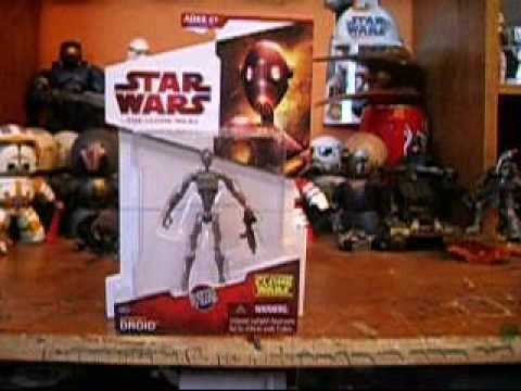 Star Wars Clones vs Droides Star Wars Commando Droid The
