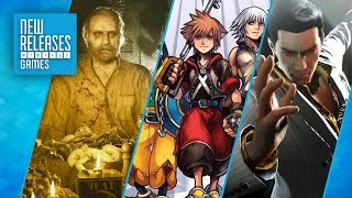 Resident Evil 7, Kingdom Hearts HD 2.8, Yakuza 0 - New Releases