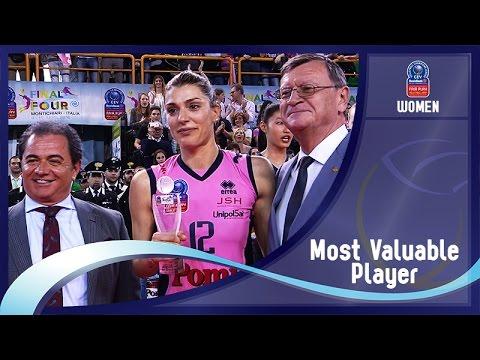 Stars in Motion Episode 11 - MVP Final Four- 2016 CEV DenizBank Volleyball Champions League - Women
