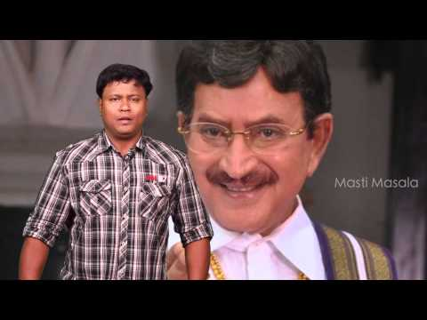 Superstar Krishna Imitates Mahesh Babu - Masti Masala Comedy video