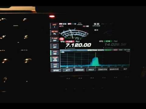 M0EDX & ER4DX 7 MHZ AMATEUR RADIO HAM RADIO SSB QSO