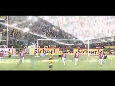 Marco Reus Penalty Goal ~ Borussia Dortmund 2-0 SC Freiburg ~ 28/09/2013