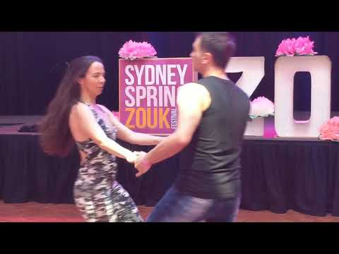 SSZF2018: Shannon & Trajano in Saturday workshop demo ~ Zouk Soul