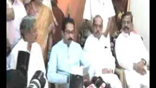 Uddhav saheb declaring loksabha contestant and talking about future prime minister