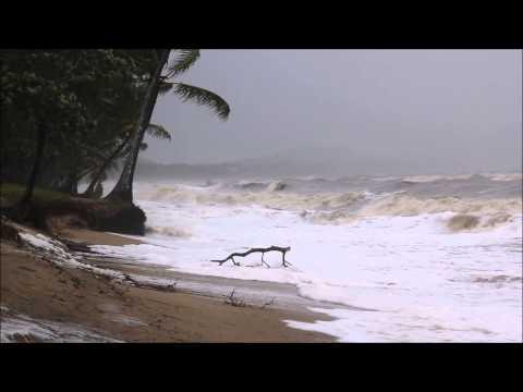 Cyclone Ita  at Clifton Beach Queensland